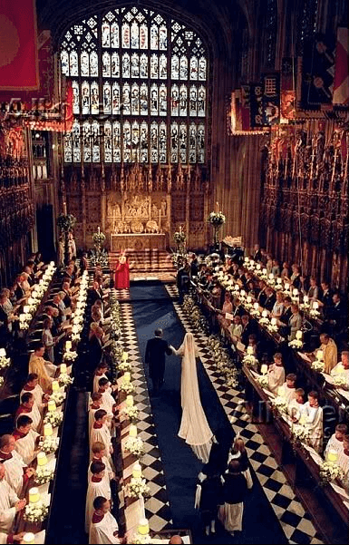 Prince Edward and Sophie wedding ceremony