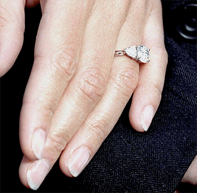 Sophie's engagement ring