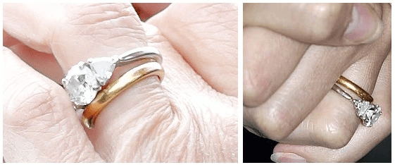Sophie's wedding band