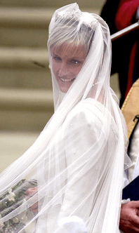 Sophie's wedding veil